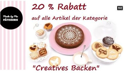Angebot Creatives Backen, Patisserie