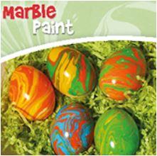Marble Paint Marmorierfarben, Ostereier färben