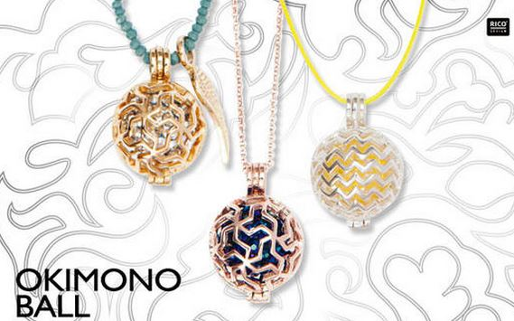Okimono Ball, Wechselscchmuck von Rico Design
