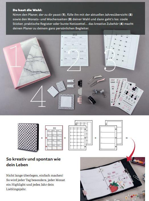 My Planner, Notizbuchsystem von Rayher
