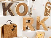 KORK - Leder, Papier, Stoff