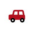 RICO AUTO ROT KLEIN 4,2X3,2 CM APPLIQUE
