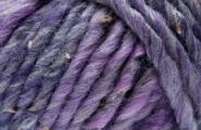 Fashion Tweed Super Chunky LILA Wolle zum Stricken, Rico Design