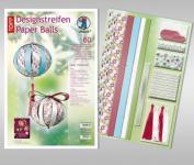 """Bähr DESIGNSTREIFEN PAPER BALLS """"JOLLY CHRISTMAS"""""""