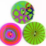 Efco Button Sensations Brights 35 mm
