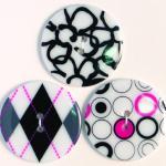 Efco Button Sensations Black & White 35 mm