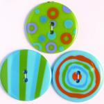 Efco Button Sensations Citrus 35 mm