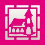 Efco Stanzer Quadrat flächig Rahmen + Kirche ~ 22 x 22 mm