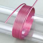 Efco Aludraht eloxiert ø 2 mm pink