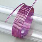 Efco Aludraht eloxiert ø 2 mm violett