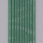 Efco Wachsstreifen Metallic Welle 200 x 2 mm hellgrün 10  Stk.
