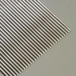 Efco Wachsstreifen rund 200 x 2 mm silber glänzend 232 Stk.