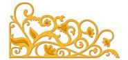 Efco Spellbinders Stanzschablone Die D-Lites™ Garden Weave ~ 5,1 x 9,5 cm
