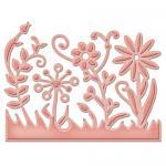 Efco Spellbinders Stanzschablone Die D-Lites™ Flower Burst ~ 7 x 5,4 cm