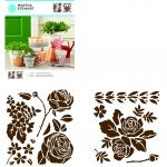 Efco MS Medium Stencil Portfolios Rose Garden 22 x 24 cm