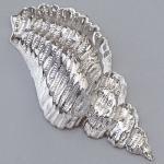 Efco Schmuckteil für Efcolor Muschel 15 x 32 mm silberfarbig