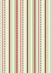 Rayher Baumwoll-Stoff: Streifenspiel, lindgrün, 50x65cm,
