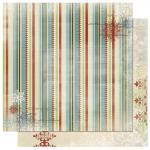 Rayher Scrapbookingpapier Blitzen Stripe, 30,5x30,5cm, 190g/m2