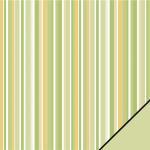 Rayher Scrapbooking-Papier: Grüne Streifen, XXX190g