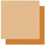 Rayher Scrapbookingpapier Orange Houndstooth, 5x30,5cm, 190g/m2