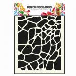 Dutch Doobadoo Dutch Mask Art Giraffe A5 14,8 x 21 cm