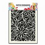 Dutch Doobadoo Dutch Mask Art Flower Swirl A5 14,8 x 21 cm