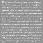 Rayher Schablone franz. Schrift, 30,5x30,5cm, SB-Btl 1Stück