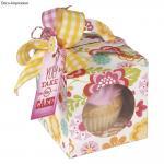 Rayher Sizzix Bigz XL- Box, Cupcake, 11,11x11,11cm-0,32x6,03cm,