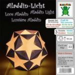 Efco Bastel-Set mit Anleitung Aladdin-Licht 15 x 15 cm 33 Blatt/