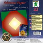 Efco Adventus Papier 10 x 10 cm 32 Blatt / 80 g/m² Natur 1