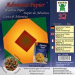 Efco Adventus Papier 10 x 10 cm 32 Blatt / 80 g/m² Natur 2