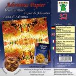 Efco Adventus Papier 10 x 10 cm 32 Blatt / 80 g/m² Natur 4