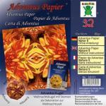 Efco Adventus Papier 10 x 10 cm 32 Blatt / 80 g/m² Natur 5
