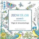 Buch Zencolor moments Vögel & Schmetterlinge