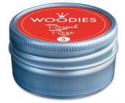 Efco Woodies Farbwelt Stempelkissen ø 35 mm rot