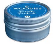 Efco Woodies Farbwelt Stempelkissen ø 35 mm blau