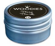 Efco Woodies Farbwelt Stempelkissen ø 35 mm schwarz