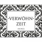 """Rayher Stempel """"Verwöhnzeit für Dich"""", 4x5cm"""