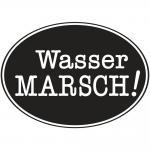 """Rayher Labels D: """"Wasser Marsch!"""", 55x40mm, oval, SB-Btl 1Stück"""