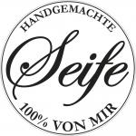 """Rayher Labels D: """"Handgemachte ..."""", 45mm ø, SB-Btl 1Stück"""