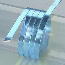 Efco Aludraht eloxiert flach 1 x 5 mm hellblau