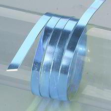 Efco Aludraht eloxiert flach 1 x 5 mm eisblau