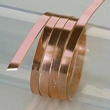 Efco Aludraht eloxiert flach 1 x 5 mm braun