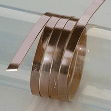 Efco Aludraht eloxiert flach 1 x 5 mm dunkelbraun