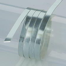 Efco Aludraht eloxiert flach 1 x 5 mm grau