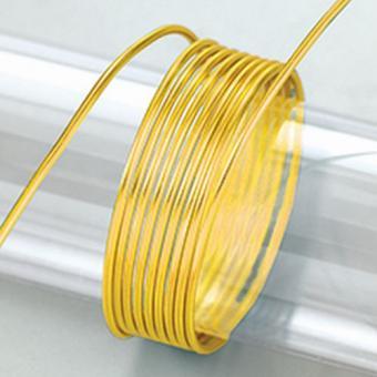 Efco Aludraht eloxiert ø 2 mm gelb