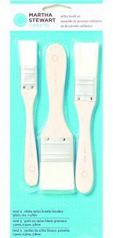 Efco MS Werkzeug Flächen Pinsel Set - Nylon 19/ 25/ 38 mm