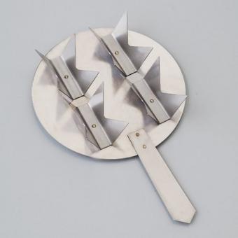 Efco Brennständer mit Griff für Kleinteile, 4-fach ø 106 mm
