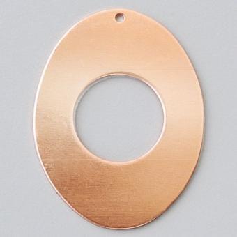 Efco Hänger oval 1-Loch 41 x 31 mm