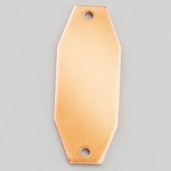 Efco Hänger 8-eck 2-Loch 30 x 12 mm